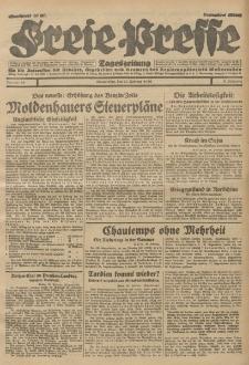 Freie Presse, Nr. 49 Donnerstag 27. Februar 1930 6. Jahrgang