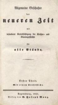 Allgemeine Geschichte des Alterthums mit besonderer Berücksichtigung der Kirchen-und Staatengeschichte für alle Stände