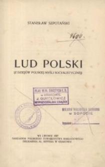 Lud Polski : (z dziejów polskiej myśli socyalistycznej)