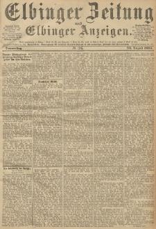 Elbinger Zeitung und Elbinger Anzeigen, Nr. 196 Donnerstag 23. August 1894
