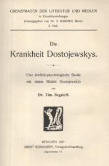 Die Krankheit Dostojewskys