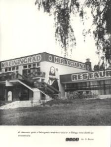 """""""Kaliningrad"""" – kawiarnia w Elblągu"""