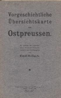 Vorgeschichte Übersischtskarte von Preussen (mapa)