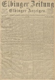 Elbinger Zeitung und Elbinger Anzeigen, Nr. 203 Freitag 31. August 1894