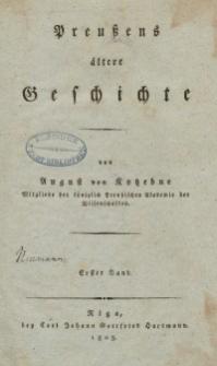 Preussens ältere Geschichte. Bd. 1