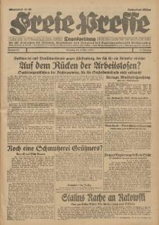 Freie Presse, Nr. 53 Dienstag 4. März 1930 6. Jahrgang