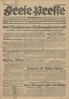 Freie Presse, Nr. 54 Mittwoch 5. März 1930 6. Jahrgang