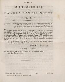 Gesetz-Sammlung für die Königlichen Preussischen Staaten, 28. November 1849, nr. 39.