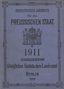 Statistisches Jahrbuch für den Preussischen Staat, 9. Jahrgang 1911