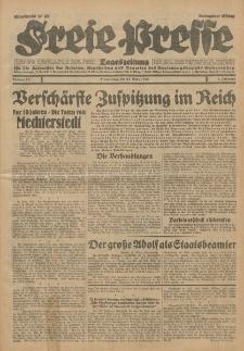 Freie Presse, Nr. 73 Donnerstag 27. März 1930 6. Jahrgang
