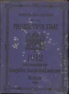 Statistisches Jahrbuch für den Preussischen Staat, 10. Jahrgang 1912
