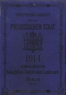 Statistisches Jahrbuch für den Preussischen Staat, 12. Jahrgang 1914