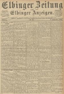 Elbinger Zeitung und Elbinger Anzeigen, Nr. 211 Sonntag 09. September 1894