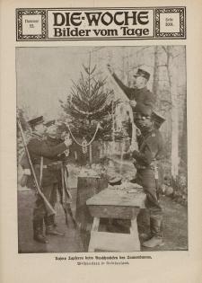 Die Woche : Moderne illustrierte Zeitschrift, 16. Jahrgang, 26. Dezember 1914, Nr 52