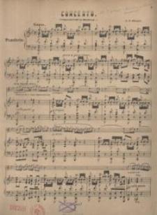 Concerto : Pianoforte