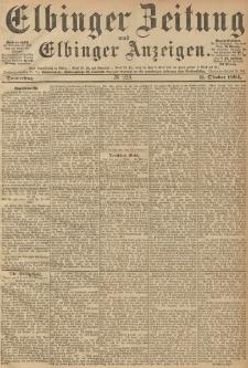 Elbinger Zeitung und Elbinger Anzeigen, Nr. 239 Donnerstag 11. October 1894