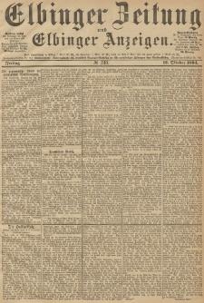 Elbinger Zeitung und Elbinger Anzeigen, Nr. 240 Freitag 12. October 1894
