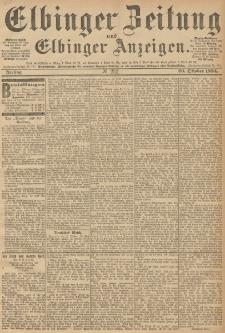Elbinger Zeitung und Elbinger Anzeigen, Nr. 252 Freitag 26. October 1894