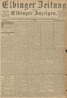 Elbinger Zeitung und Elbinger Anzeigen, Nr. 255 Dienstag 30. October 1894