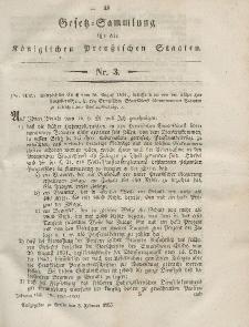 Gesetz-Sammlung für die Königlichen Preussischen Staaten, 3. Februar, 1855, nr. 3.