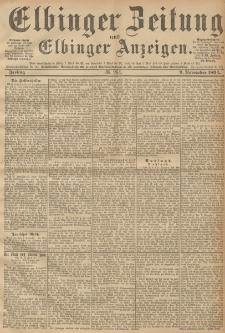Elbinger Zeitung und Elbinger Anzeigen, Nr. 264 Freitag 09. October 1894