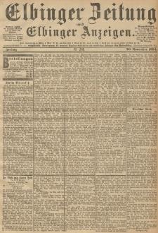 Elbinger Zeitung und Elbinger Anzeigen, Nr. 281 Freitag 30. October 1894