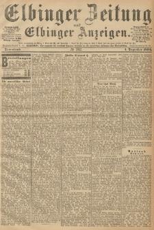 Elbinger Zeitung und Elbinger Anzeigen, Nr. 282 Sonnabend 01. December 1894