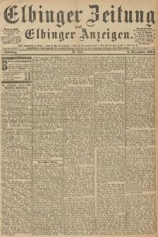 Elbinger Zeitung und Elbinger Anzeigen, Nr. 283 Sonntag 02. December 1894
