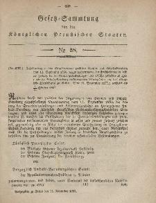 Gesetz-Sammlung für die Königlichen Preussischen Staaten, 11. November, 1857, nr. 58.