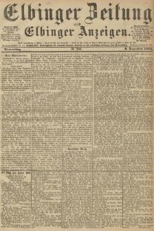 Elbinger Zeitung und Elbinger Anzeigen, Nr. 286 Donnerstag 06. December 1894