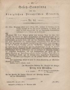 Gesetz-Sammlung für die Königlichen Preussischen Staaten, 12. November, 1858, nr. 51.