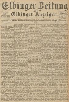 Elbinger Zeitung und Elbinger Anzeigen, Nr. 292 Donnerstag 13. December 1894