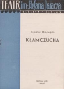 Kłamczucha - Maurice Hennequin