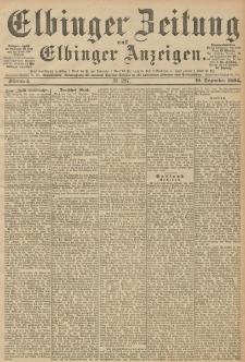Elbinger Zeitung und Elbinger Anzeigen, Nr. 297 Mittwoch 19. December 1894