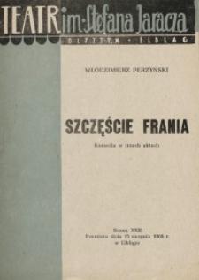 Szczęście Frania - Włodzimierz Perzyński