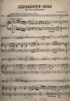 Impromptu. Solo für Viola und Pianoforte. Op.68.