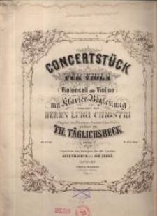 Concertstück für Viola (Violoncell oder Violino). Op. 49. (No 9774)