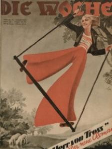 Die Woche, 35. Jahrgang, 19. August 1933, Nr 33