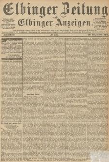 Elbinger Zeitung und Elbinger Anzeigen, Nr. 304 Donnerstag 27. December 1894