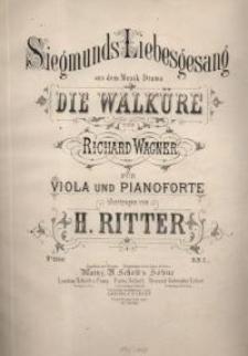 """Siegmunds Liebesgesang aus dem Musik-Drama """"Die Walküre"""""""