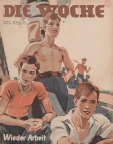 Die Woche, 36. Jahrgang, 1. September 1934, Nr 35