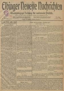 Elbinger Neueste Nachrichten, Nr. 1 Freitag 2 Januar 1914 66. Jahrgang