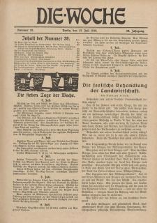 Die Woche, 20. Jahrgang, 13. Januar 1918, Nr 28