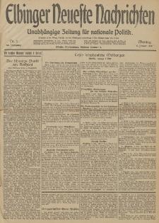 Elbinger Neueste Nachrichten, Nr. 4 Montag 5 Januar 1914 66. Jahrgang