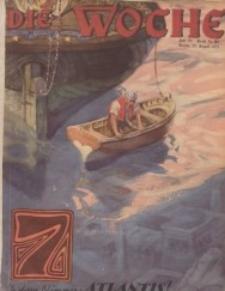 Die Woche, 33. Jahrgang, 29. August 1931, Nr 35