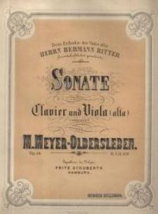 Sonate für Clavier und Viola. Op. 14.