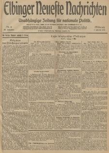 Elbinger Neueste Nachrichten, Nr. 6 Mittwoch 7 Januar 1914 66. Jahrgang