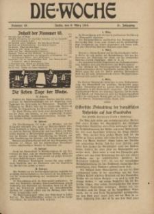Die Woche : Moderne illustrierte Zeitschrift, 21. Jahrgang, 8. März 1919, Nr 10