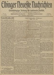 Elbinger Neueste Nachrichten, Nr. 8 Freitag 9 Januar 1914 66. Jahrgang