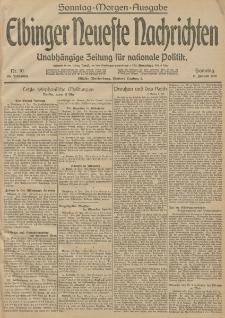 Elbinger Neueste Nachrichten, Nr. 10 Sonntag 11 Januar 1914 66. Jahrgang